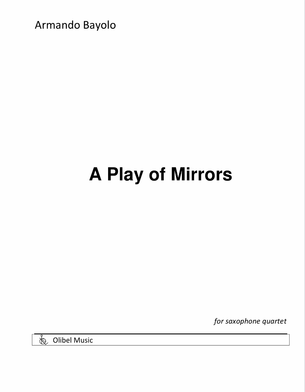 A Play Of Mirors by Armando Bayolo