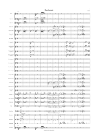 Bacchanale (Score Only) by Nic Gotham
