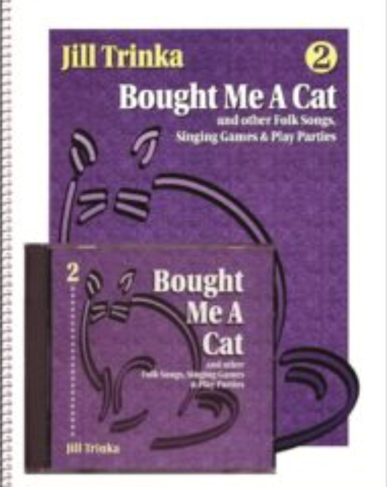 Bought Me A Cat (Book And CD) by Jill Trinka