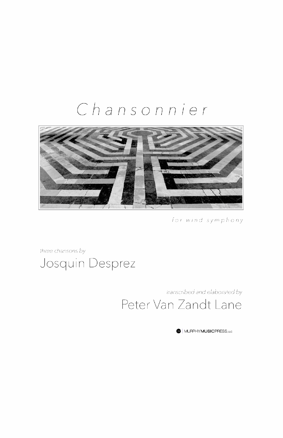 Chansonnier by Peter Van Zandt Lane