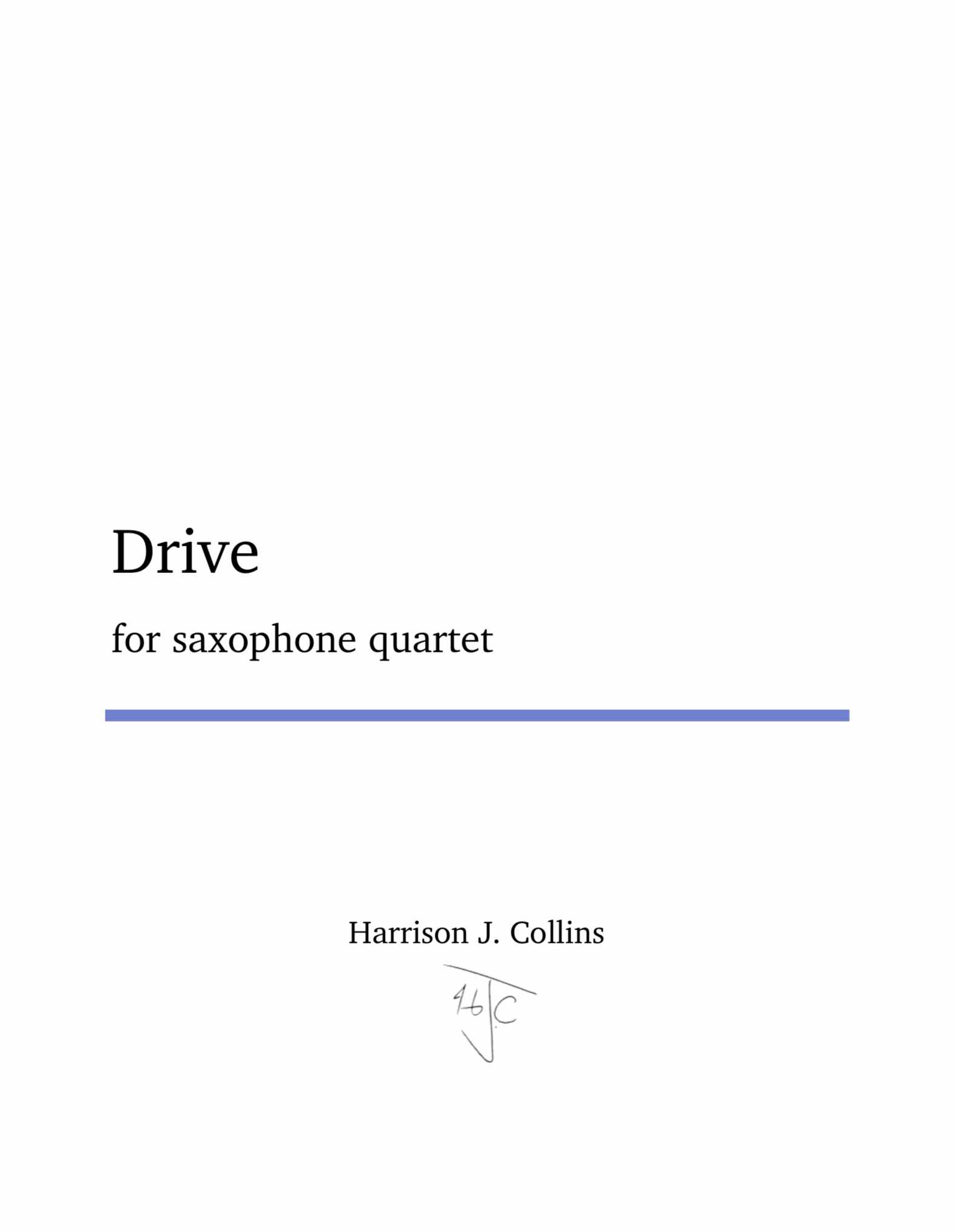 Drive by Harrison Collins