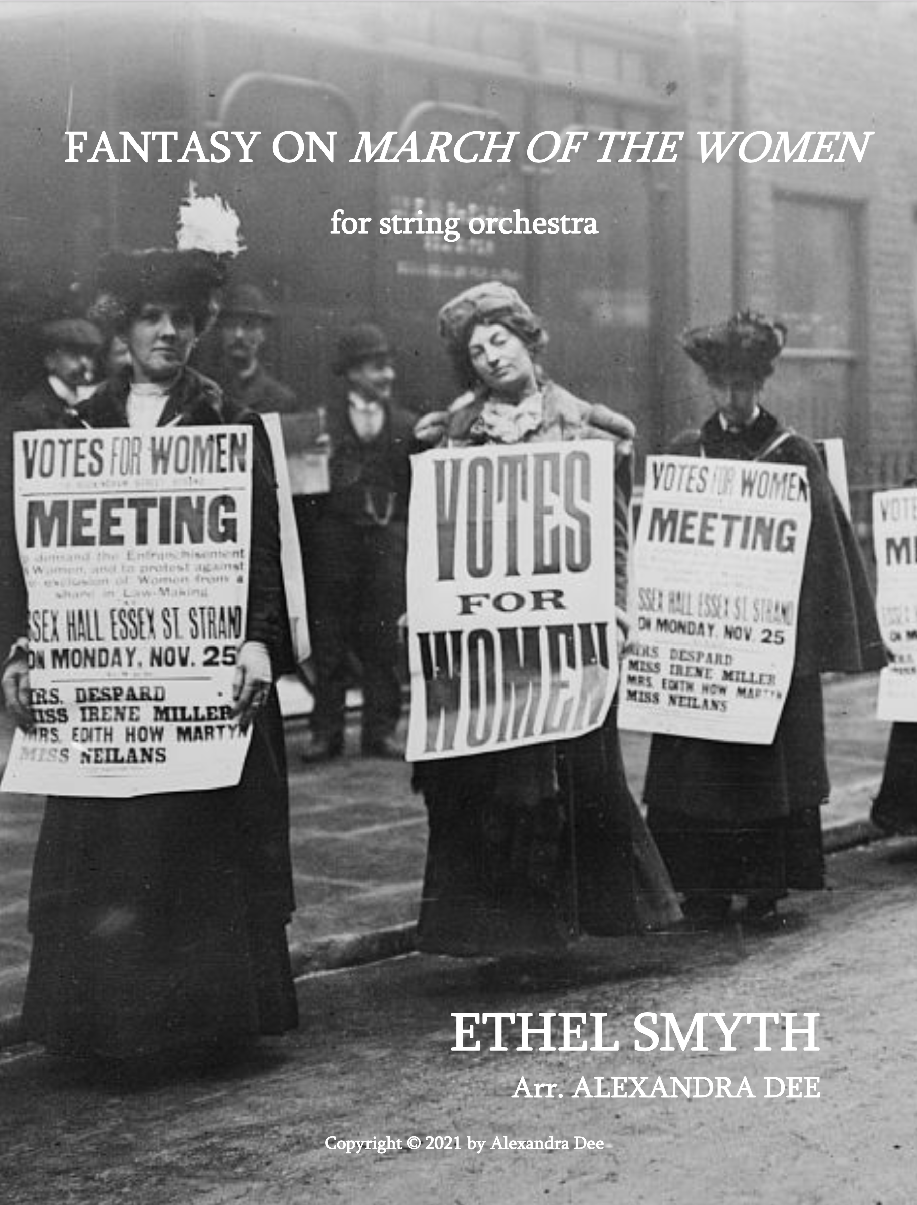 Fantasy On March Of The Women  by Ethel Smith, arr. Dee