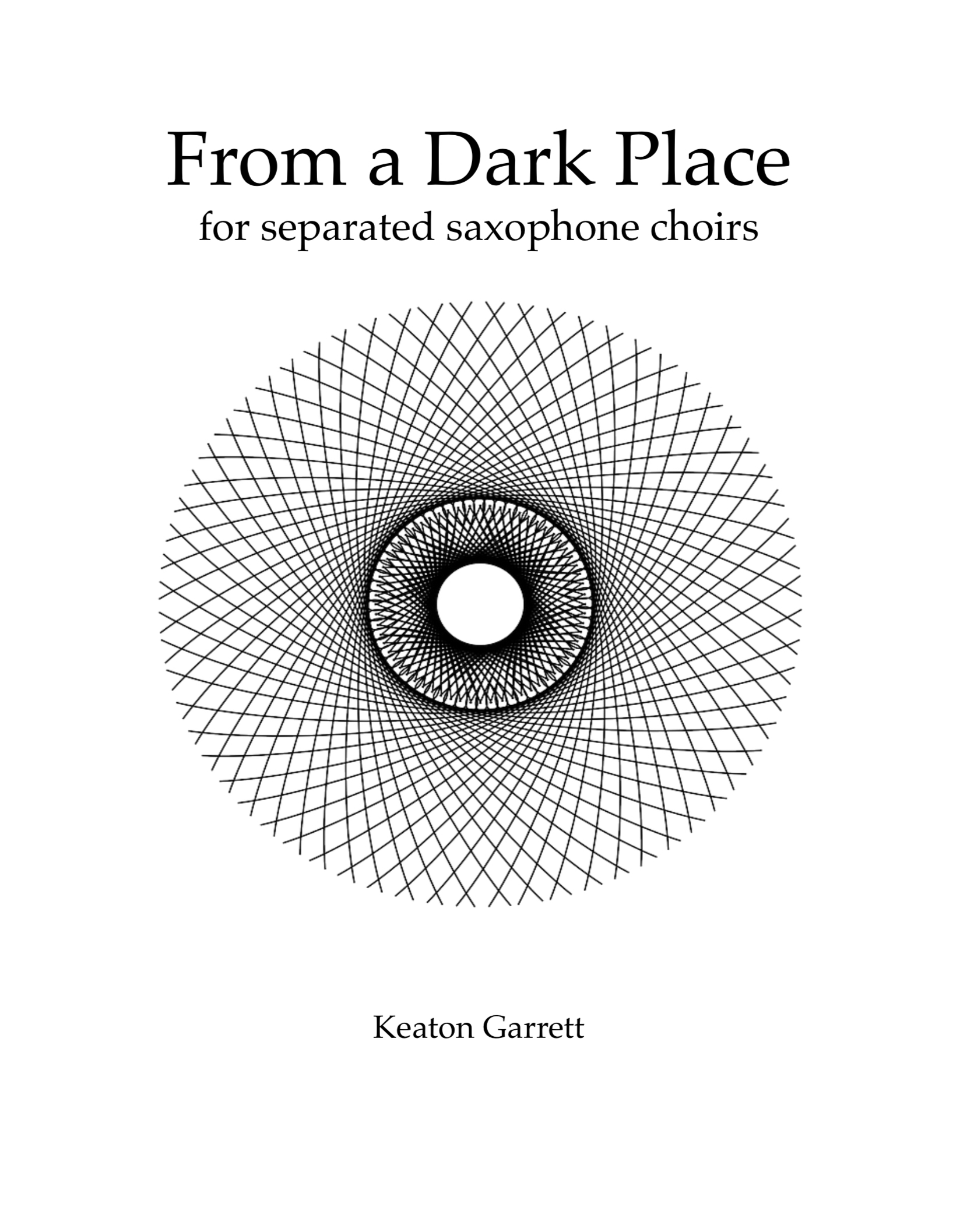 From A Dark Place by Keaton Garrett
