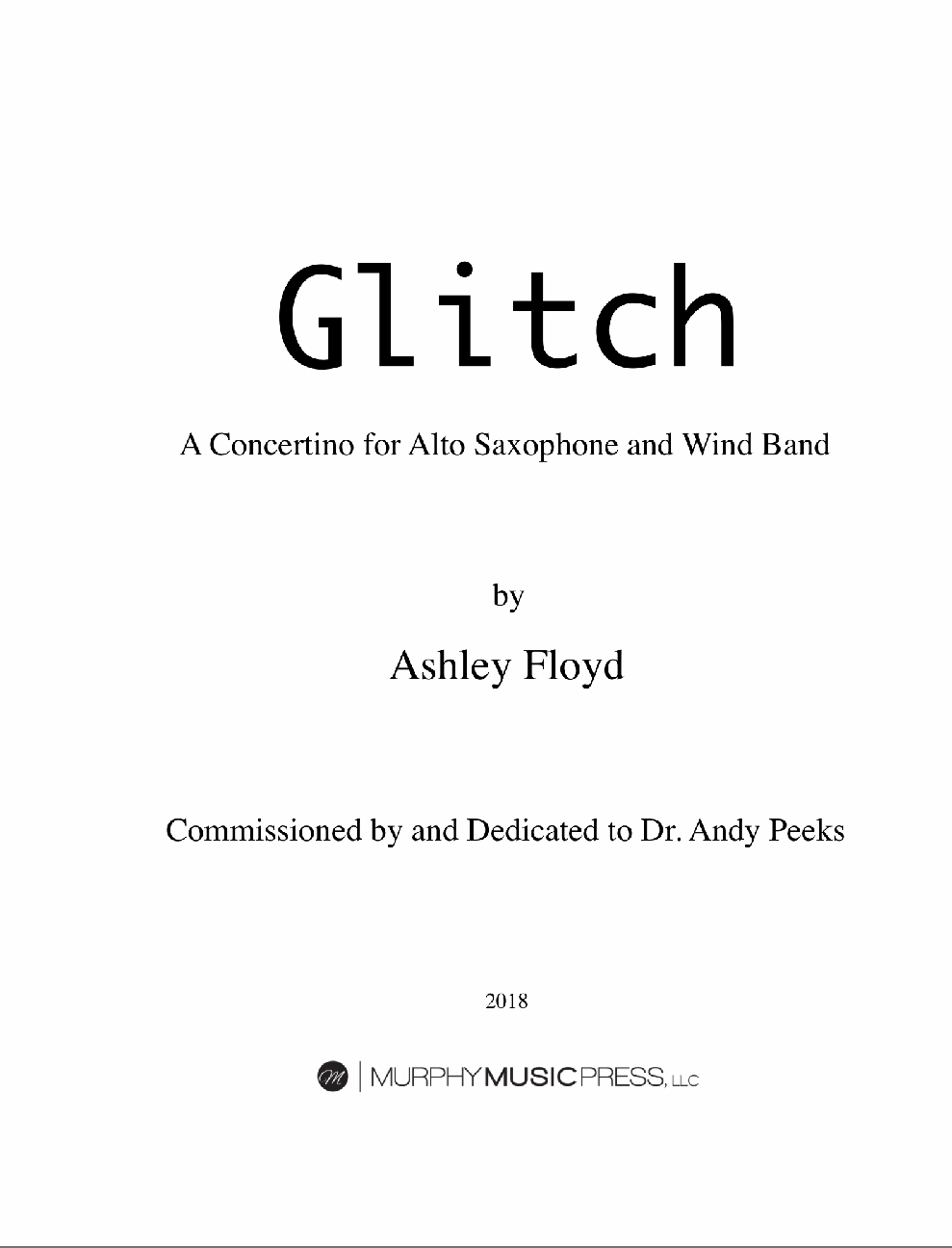 Glitch  by Ashley Floyd