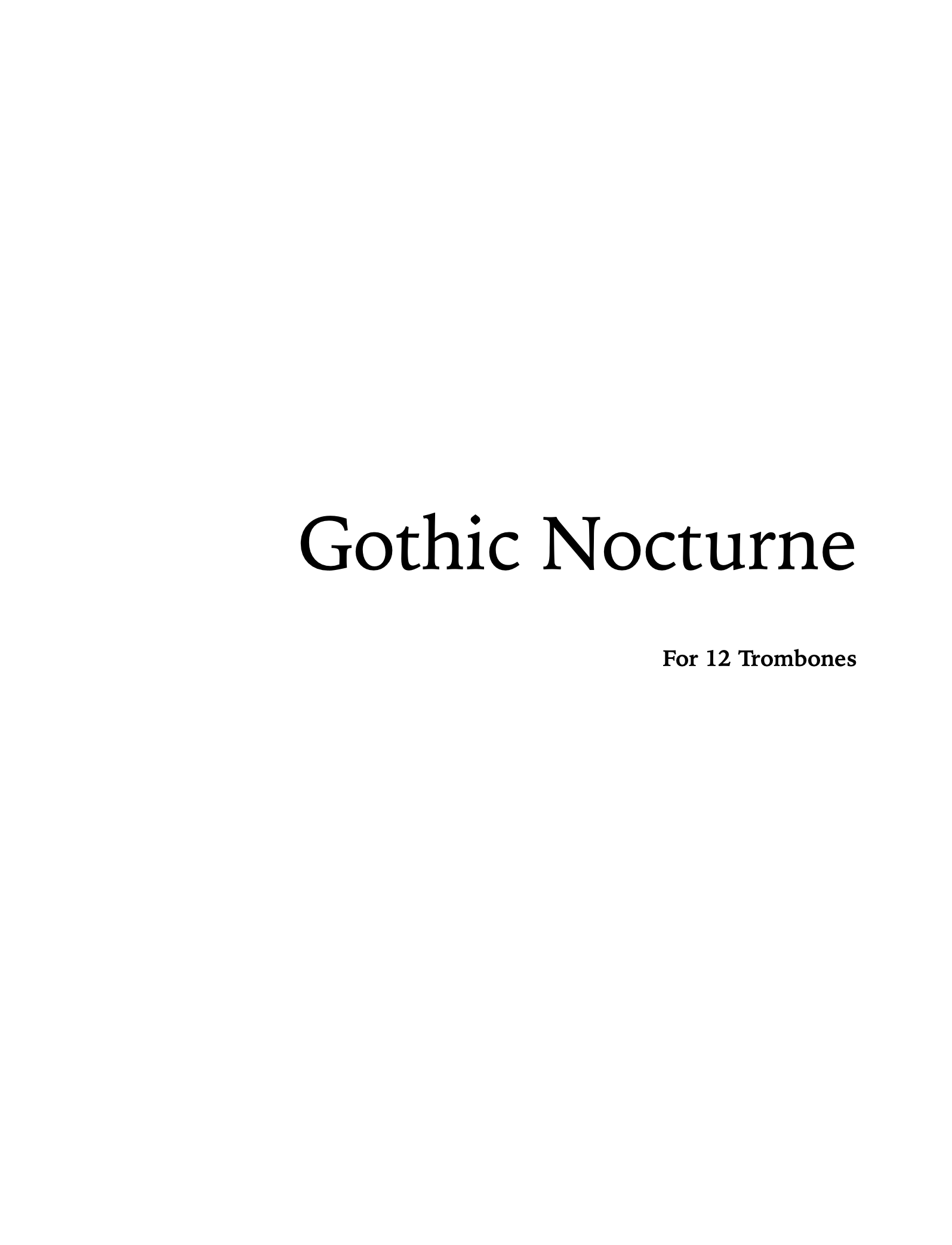 Gothic Nocture by Jack Wilds