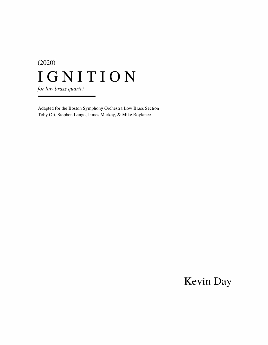 Ignition (Quartet Version) by Kevin Day