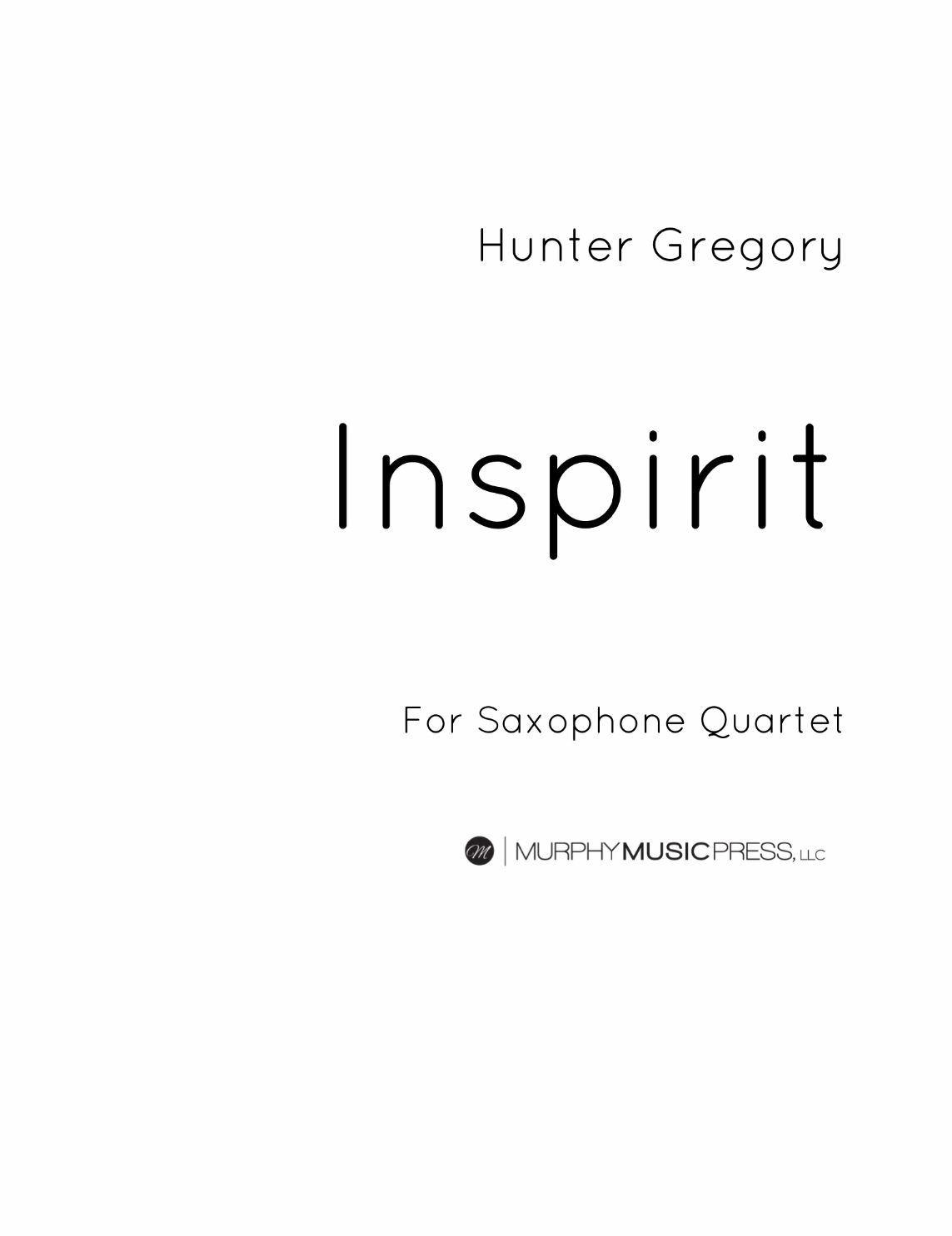 Inspirit by Hunter Gregory