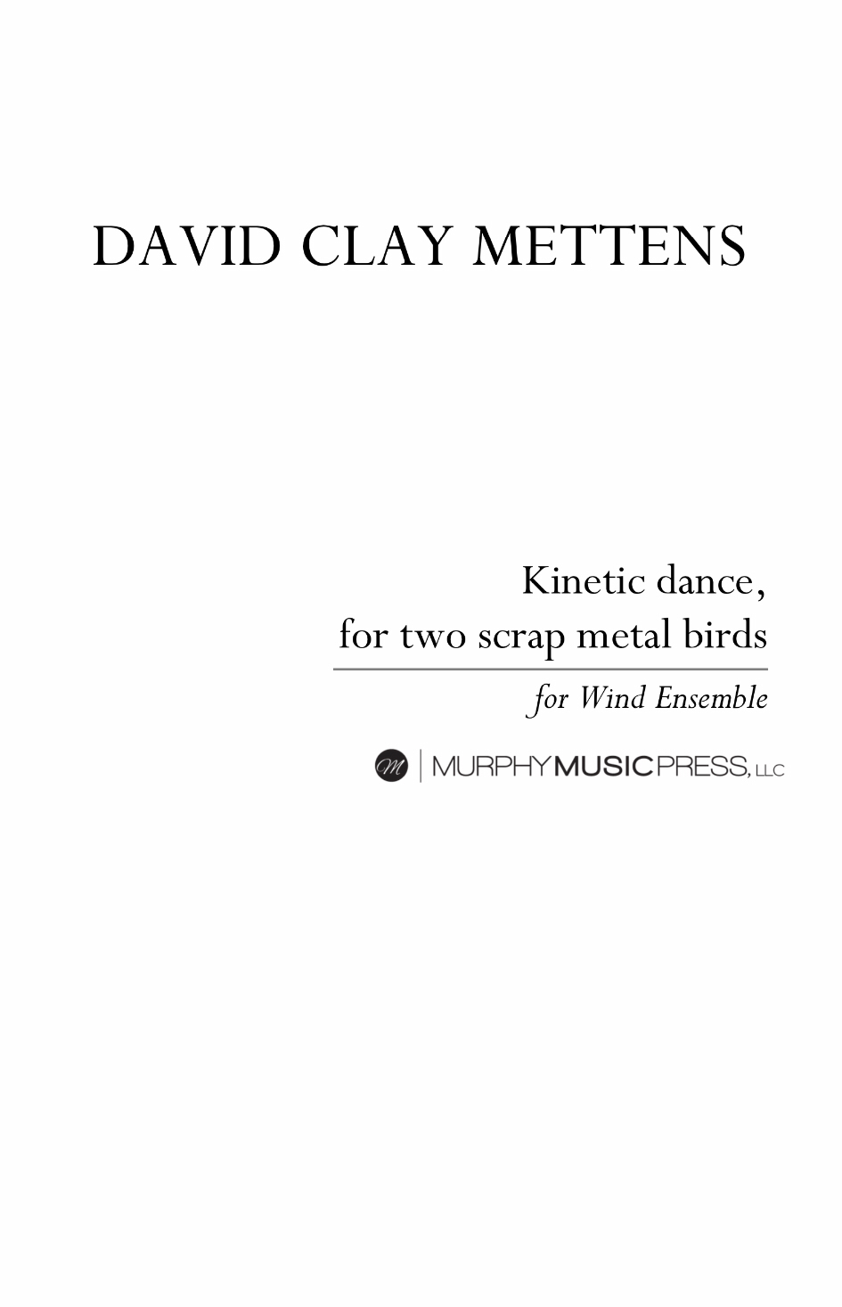 Kinetic Dance For Two Scrap Metal Birds by David Clay Mettens