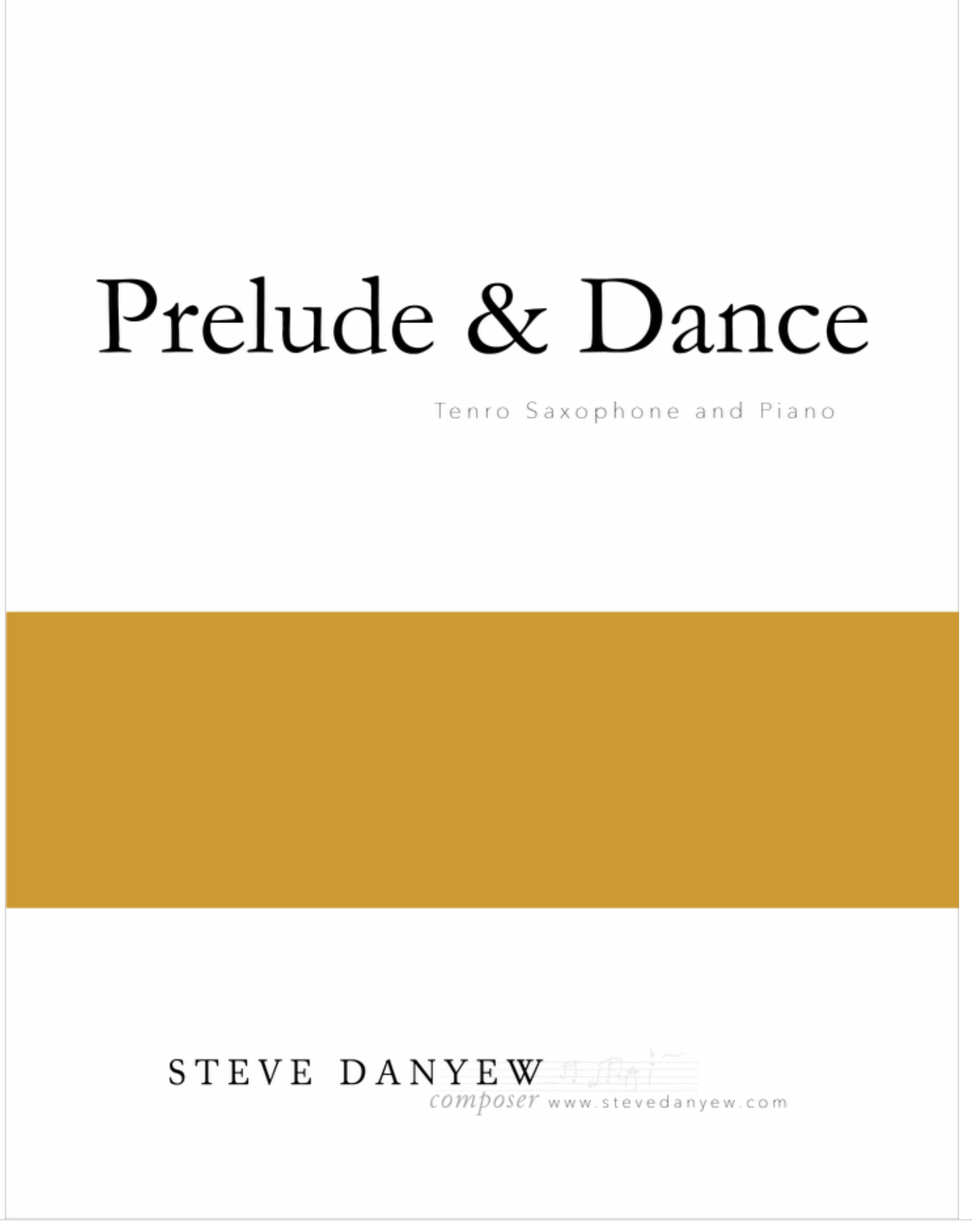 Prelude And  Dance by Steve Danyew