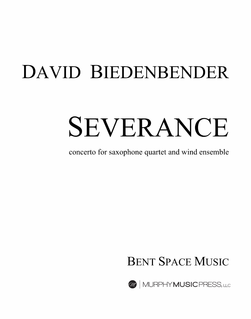 Severance (Parts Rental Only) by David Biedenbender
