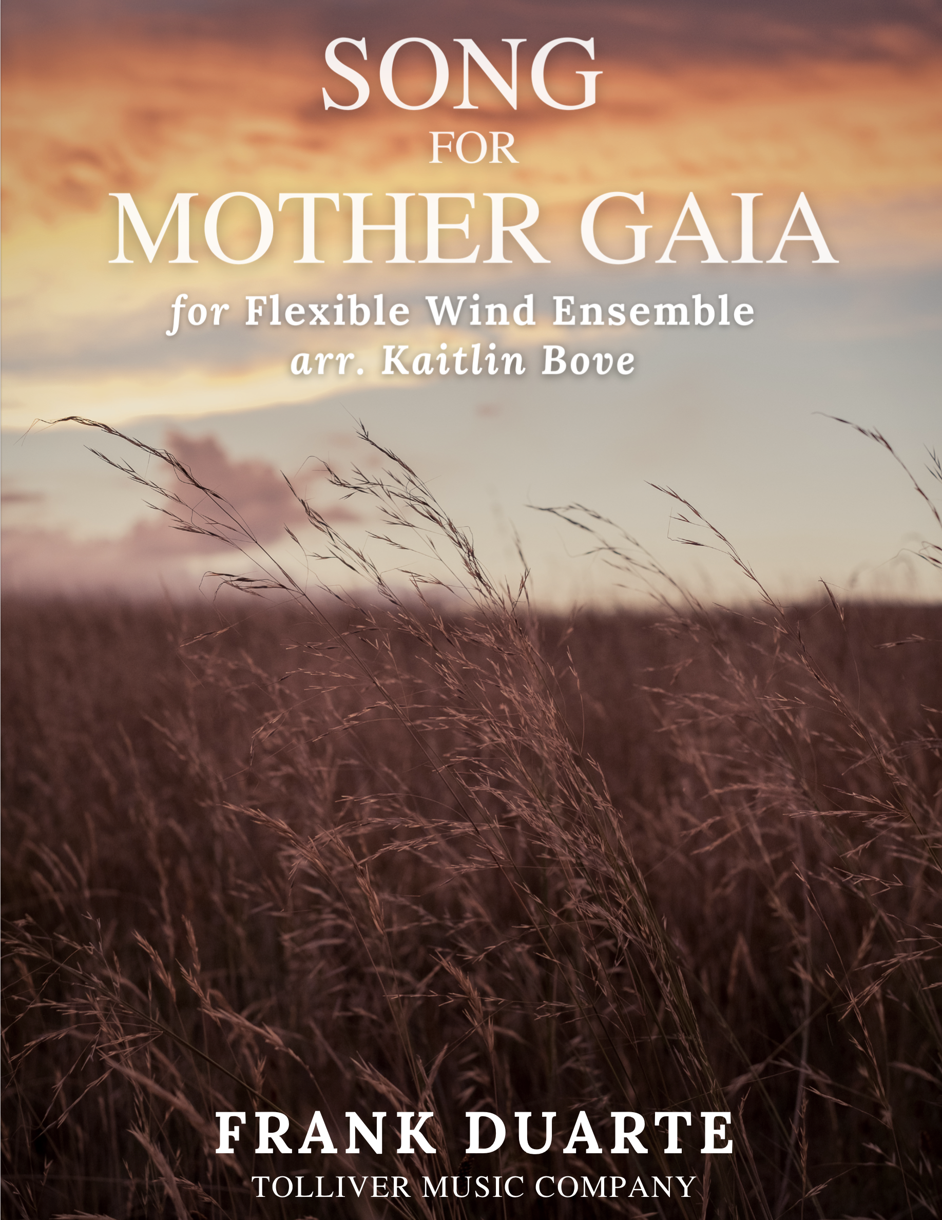 Song For Mother Gaia by Frank Duarte arr. Bovve
