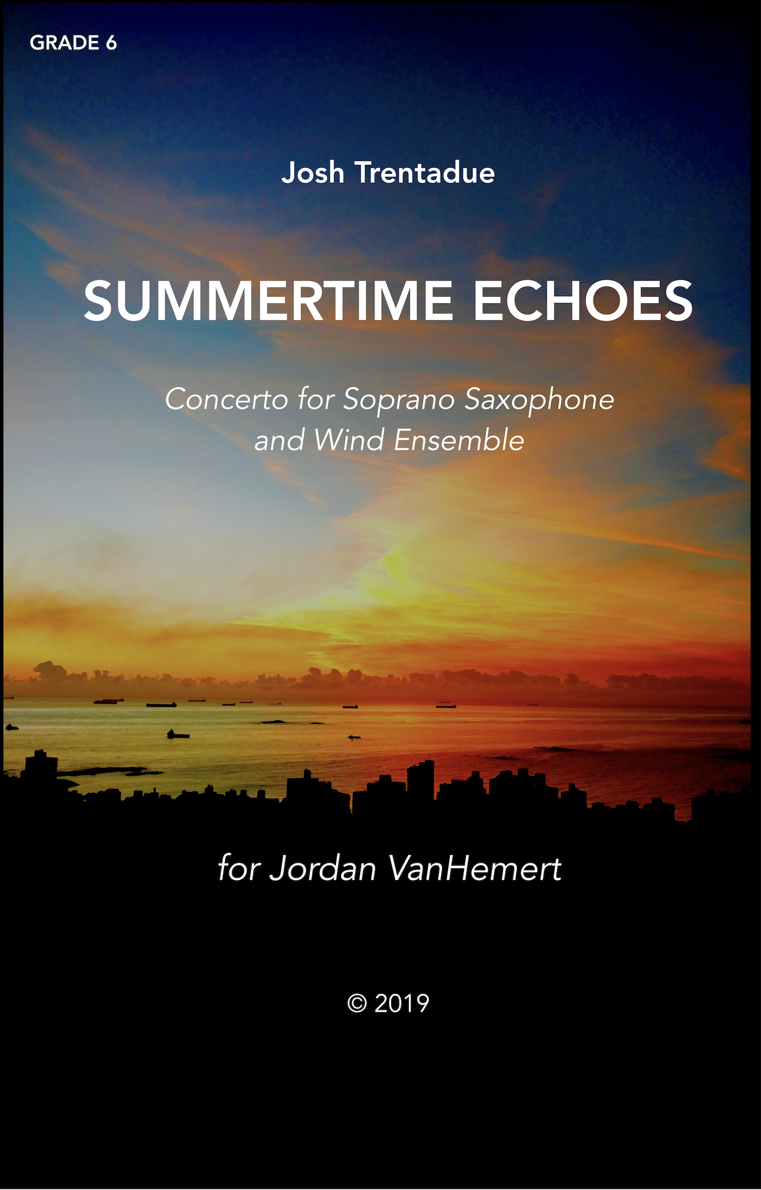 Summertime Echoes (Parts Rental Only) by Josh Trentadue