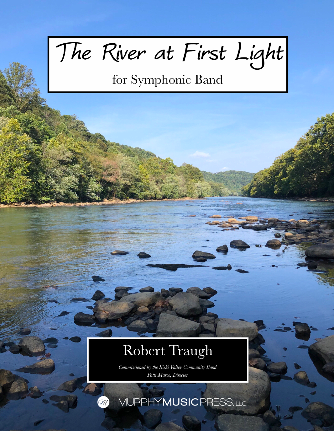 The River At First Light by Rob Traugh