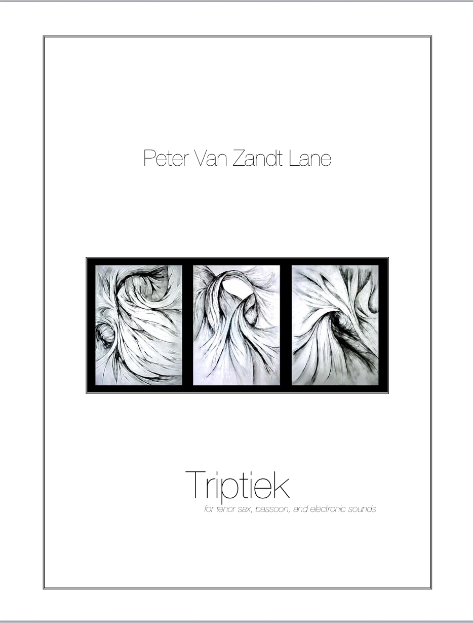 Triptiek by Peter Van Zandt Lane