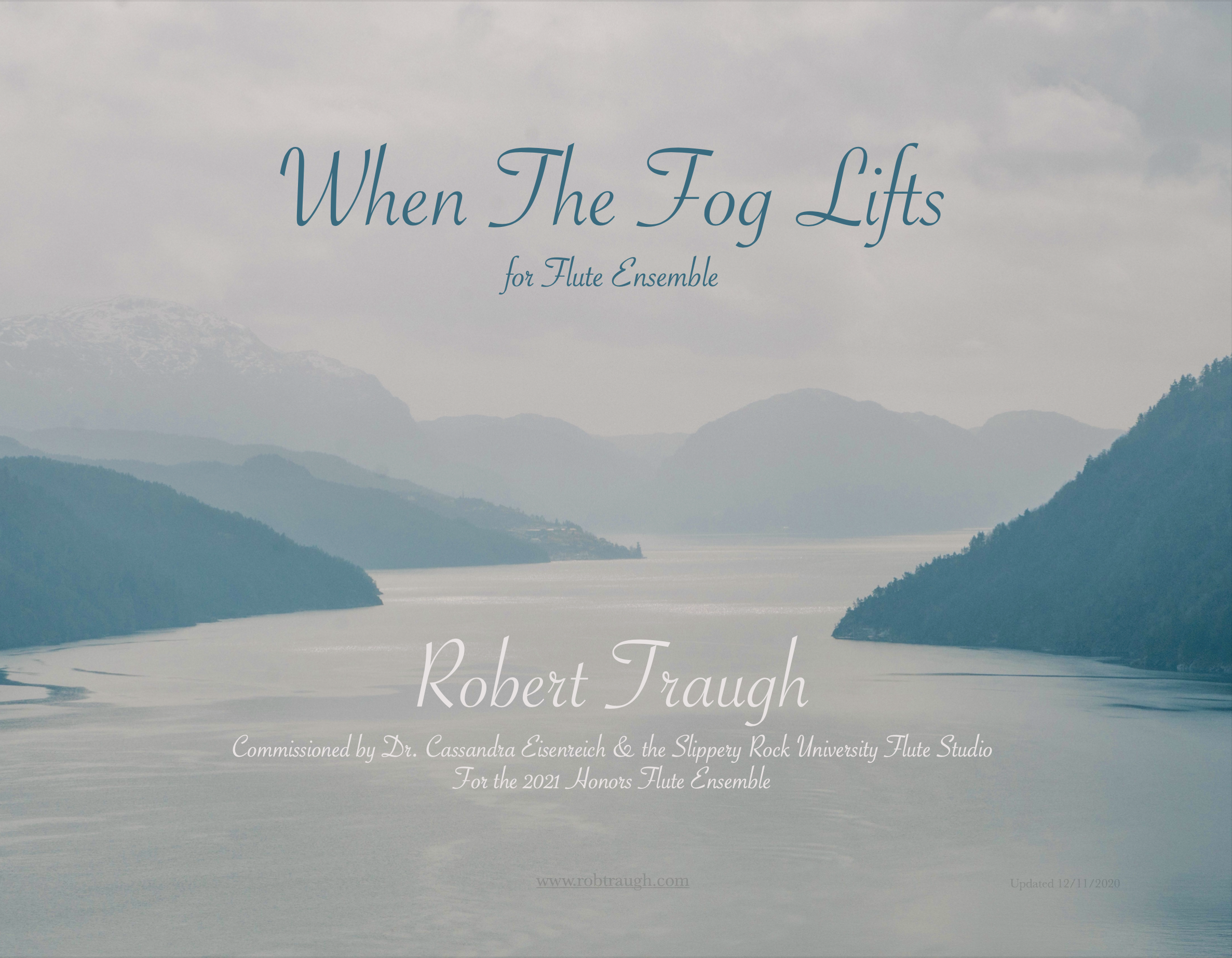 When The Fog Lifts by Robert Traugh
